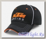 Кепка KTM Racing черная с полосками