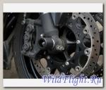Слайдеры Crazy Iron в ось переднего колеса для Yamaha YZF-R1 от 04