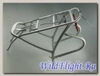 Багажник алюминиевый регулируемый (серебро) 24-28