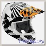 Шлем THOR VERGE DAZZ S7 OFFROAD FLO ORANGE/WHITE