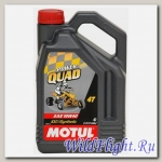 Мотор/масло MOTUL Power Quad 4T 10W-40 (4л) (MOTUL)