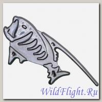 Наклейка (6х15) Fish (пластик, скотч)
