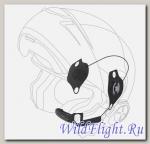 Комплект стереонаушников + микрофон для использования с мотогарнитурой Interphone (tour, sport, link, urban) в шлемах Schuberth C3