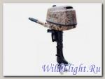 Лодочный мотор HDX F 5 BMS (камуфляж-тростник, лес)