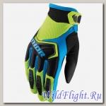 Перчатки THOR YOUTH SPECTRUM GREEN/BLACK/BLUE
