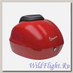 Кофр задний для Vespa Primavera Painted Red (Красный)