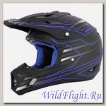 Шлем AFX FX-17 MAINLINE BLACK/BLUE