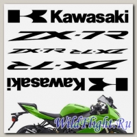Комплект наклеек Crazy Iron KAWASAKI ZX-7R
