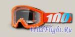 Очки подростковые 100% Strata Orange