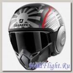 Шлем SHARK Street-Drak silver grey