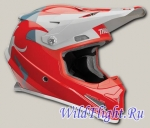 Шлем THOR YOUTH SECTOR SHEAR RED/LIGHT
