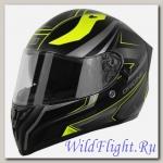 Шлем (интеграл) Origine STRADA Graviter чёрный/Hi-Vis жёлтый матовый