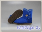 UGG WOMENS BAILEY BUTTON ROYAL BLUE 5803
