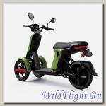 Электрический скутер Трицикл Doohan iTango HO-1200W Зеленый.