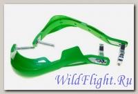 Защита рук (пара) HP03 зеленые армированные SM-PARTS