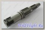 Вал вторичный КПП, сталь LU055561