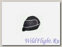 КОФР для шлема (кейс), с ручкой и молниями, красивый, ткань+пластик+уретан