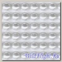 Наклейки набор (10х40) Стразы 6мм pearl