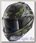 Шлем SHARK Evo-One 2 Skuld green black