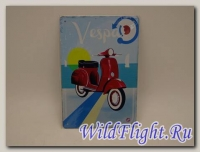 Знак винтажный VESPA тип 32