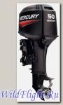 Двухтактный подвесной лодочный мотор Mercury 50 MH