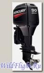 Двухтактный подвесной лодочный мотор Mercury 90 ELPTO