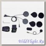 Набор для крепления на шлем с проводным микрофоном SENA
