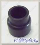 Чехол защитный вала привода переднего моста задний, резина LU025686
