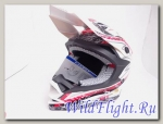 Шлем Vcan 321 кросс white / storm