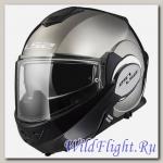 Шлем LS2 FF399 VALIANT SINGLE MONO Gloss Chrome