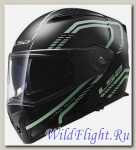 Шлем LS2 FF324 METRO FIREFLY Matt Black