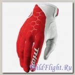Перчатки THOR DRAFT INDI RED/WHITE