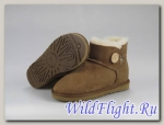 UGG WOMENS MINI BAILEY BUTTON chestnut 3352