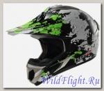 Шлем LS2 MX433 BLAST White Black Green