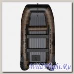 ЛОДКА SMARINE SUH-420 (CATAMARAN-420 (БОЛОТИСТЫЙ КАМУФЛЯЖ/ЧЕРНЫЙ) IB)