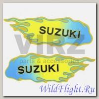 Наклейка (2шт) (5х15) Suzuki