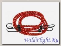 Резинка для крепления багажа с крючками 8мм*1,9м (2шт) 57032