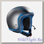 Шлем Vespa ELETTRICA CON BT (Серо-голубой)