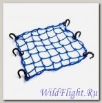 Сетка багажная SM-PARTS 40 х 40 см синяя