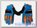 Перчатки Shimano Explorer, длин.пал. син/черн