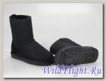 UGG WOMENS CLASSIC SHORT black 5825