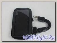 Чехол для навигатора-телефона с креплением на руль 6,0 для скутера