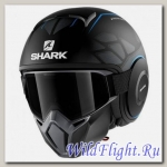 Шлем SHARK Street-Drak matt black blue
