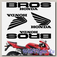 Комплект наклеек Crazy Iron HONDA BROS