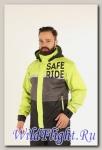 Дождевая куртка STARKS Dry Rain DR 219 MAN муж. Серо-Салатовая