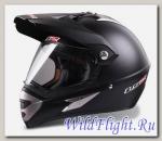 Шлем LS2 MX433 WITH VISOR SINGLE MONO Matt Black