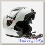 Шлем GSB G-339 SNOW WHITE GLOSSY