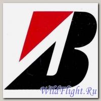 Наклейка эмблема Bridgestone (6х6)