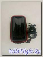 Чехол для навигатора-телефона с креплением на руль 6.5-7.0