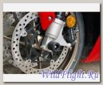Слайдеры Crazy Iron в ось переднего колеса для Honda VFR800 от 2013 г.